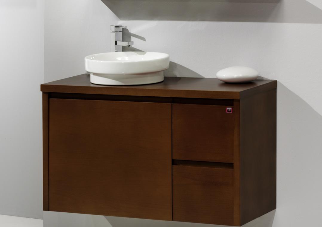 Muebles para baño de colgar colección Zen